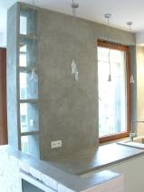 dekoracja scienna z betonu 1
