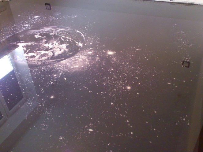 posadzka dekoracyjna na folii kosmos 1